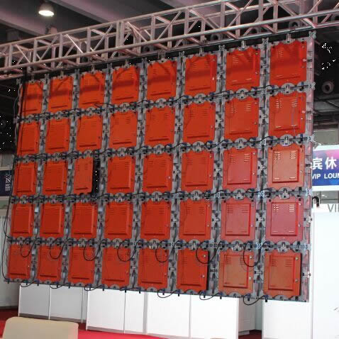 500*500mm Cabinet LED Screen for Rental Use